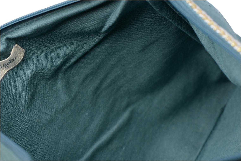 Petite Maroquinerie Petite mendigote Pochette Kit de Survie Vert vue derrière