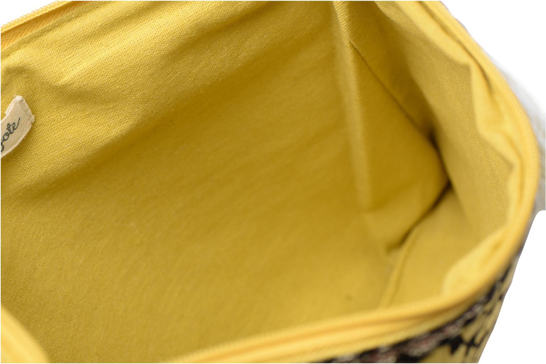 Petite Maroquinerie Petite mendigote Pochette Kit de Survie Jaune vue derrière