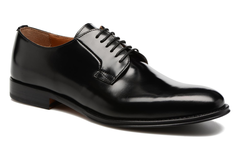 Chaussures à lacets Marvin&Co Renan Noir vue détail/paire