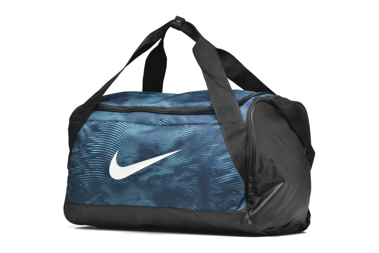 Sacs de sport Nike Nike Brasilia Duffle bag S GFX Bleu vue portées chaussures