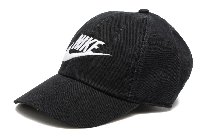 Divers Nike Nike Futura washed Cap Noir vue détail/paire