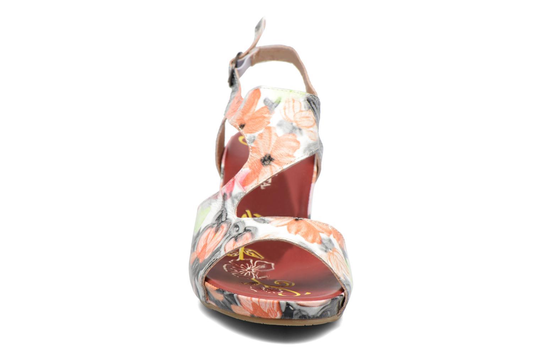 Sandales et nu-pieds Laura Vita Vapeur Multicolore vue portées chaussures