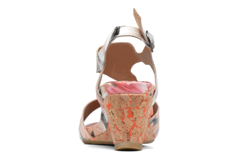 Sandales et nu-pieds Laura Vita Vapeur Multicolore vue droite