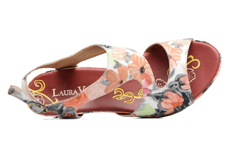 Sandales et nu-pieds Laura Vita Vapeur Multicolore vue gauche
