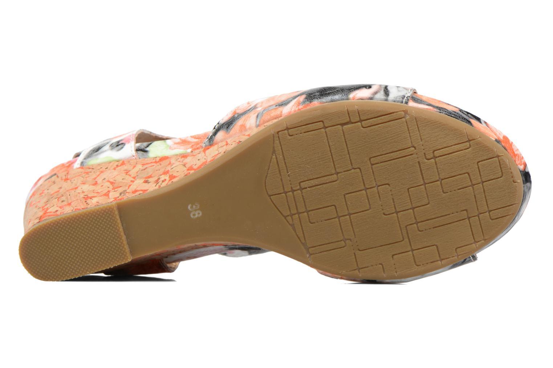 Sandales et nu-pieds Laura Vita Vapeur Multicolore vue haut