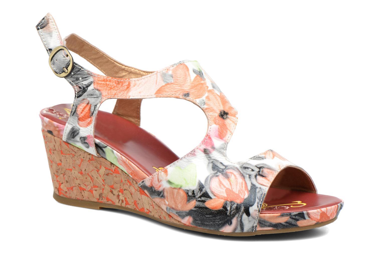 Sandales et nu-pieds Laura Vita Vapeur Multicolore vue détail/paire