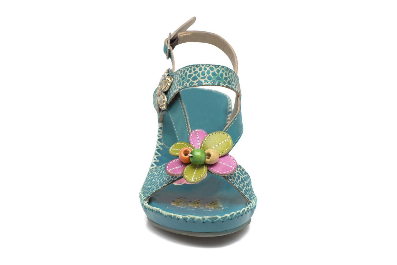 Sandales et nu-pieds Laura Vita Verre Bleu vue portées chaussures