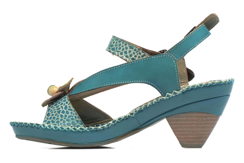 Sandales et nu-pieds Laura Vita Verre Bleu vue face