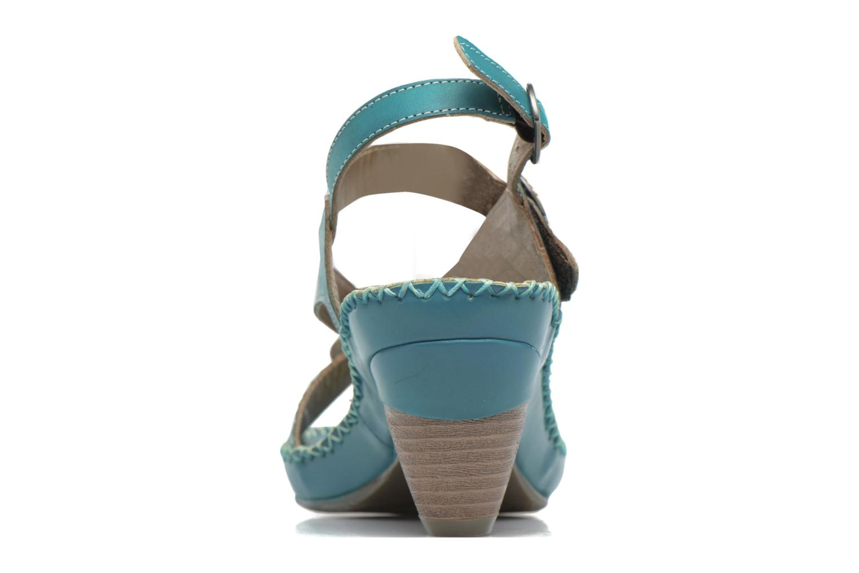 Sandales et nu-pieds Laura Vita Verre Bleu vue droite