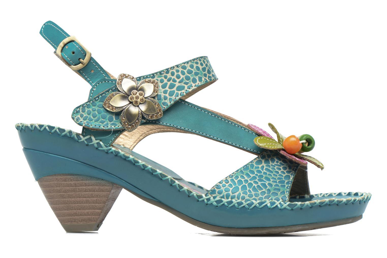 Sandales et nu-pieds Laura Vita Verre Bleu vue derrière