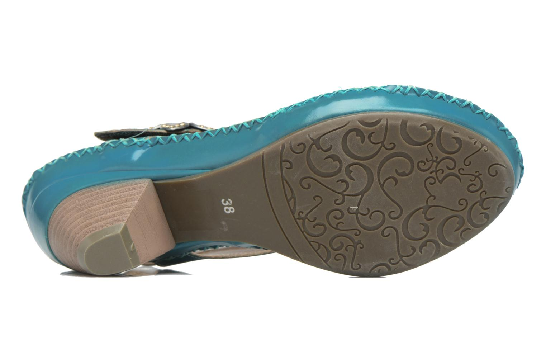 Sandales et nu-pieds Laura Vita Verre Bleu vue haut