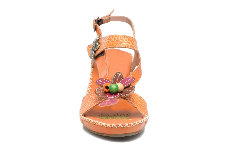 Sandales et nu-pieds Laura Vita Verre Orange vue portées chaussures