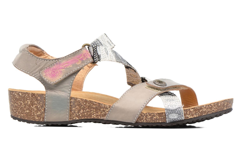 Sandales et nu-pieds Laura Vita Valentina Gris vue derrière