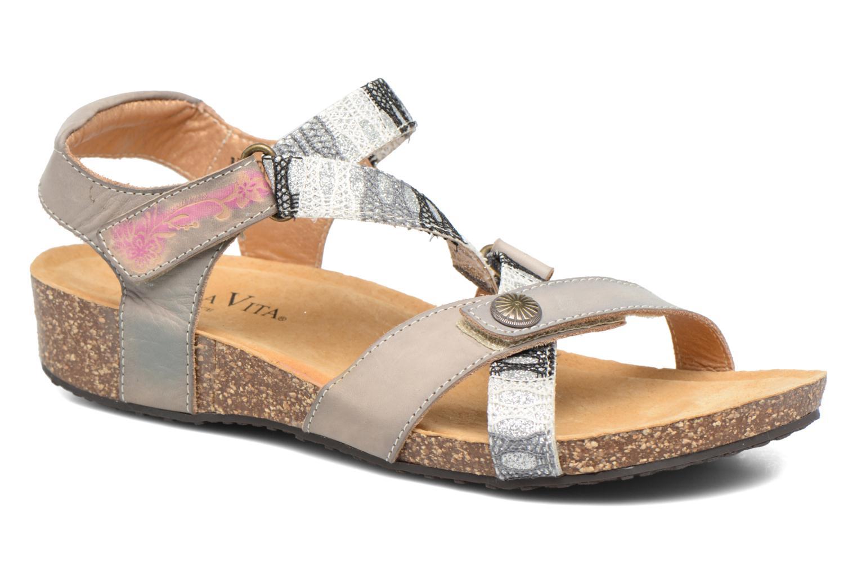 Sandales et nu-pieds Laura Vita Valentina Gris vue détail/paire
