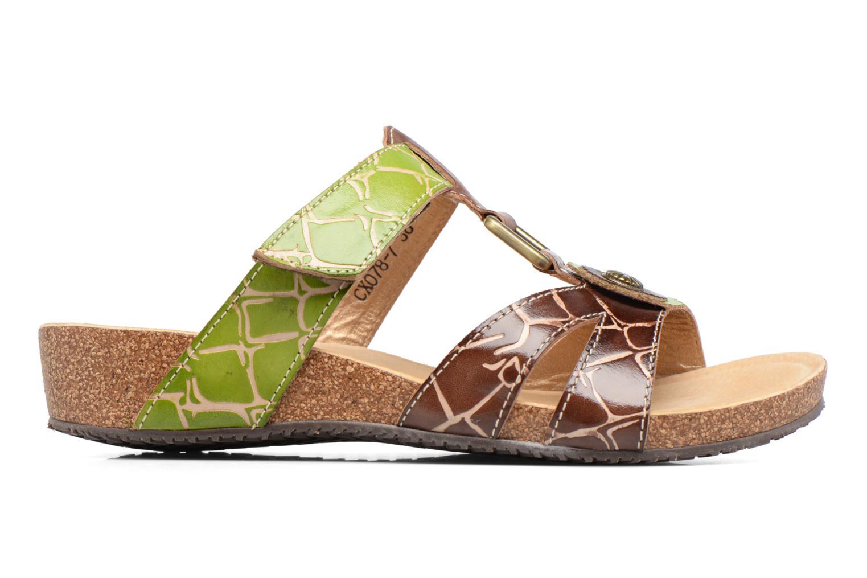 Sandales et nu-pieds Laura Vita Valence Marron vue derrière