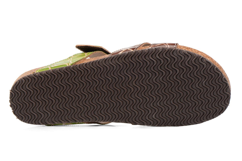 Sandales et nu-pieds Laura Vita Valence Marron vue haut