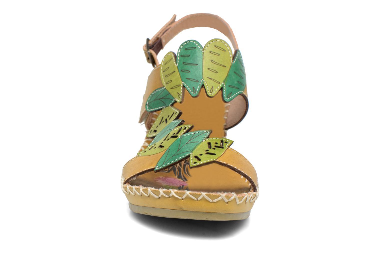 Sandales et nu-pieds Laura Vita Vannes Orange vue portées chaussures