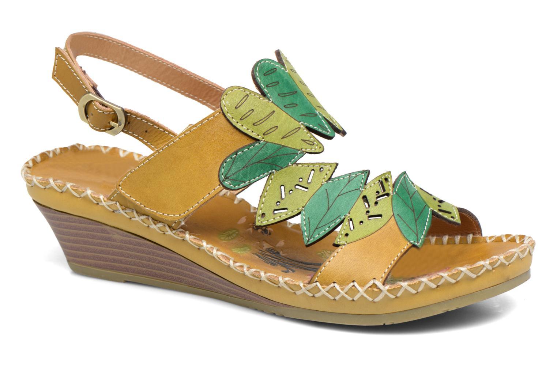 Sandales et nu-pieds Laura Vita Vannes Orange vue détail/paire