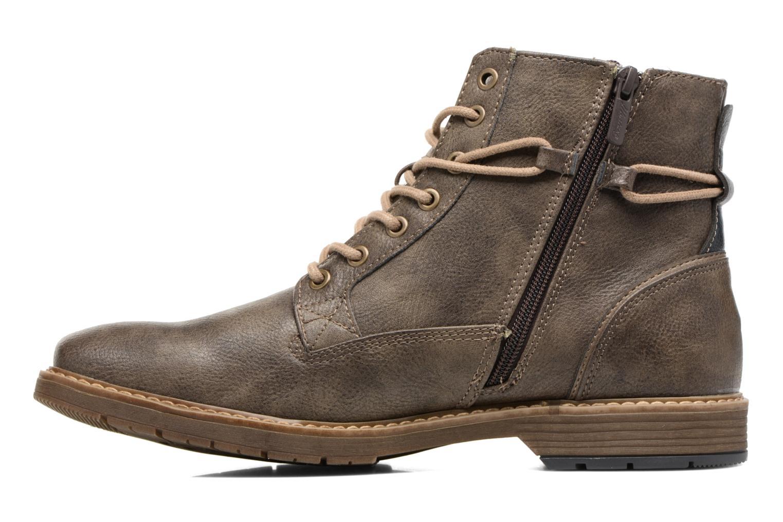 Bottines et boots Mustang shoes Valedi Marron vue face