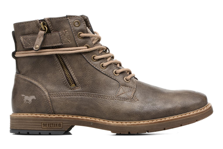Bottines et boots Mustang shoes Valedi Marron vue derrière