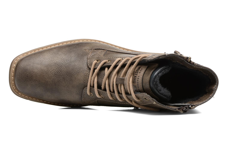 Bottines et boots Mustang shoes Valedi Marron vue gauche