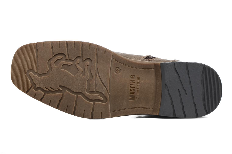 Bottines et boots Mustang shoes Valedi Marron vue haut