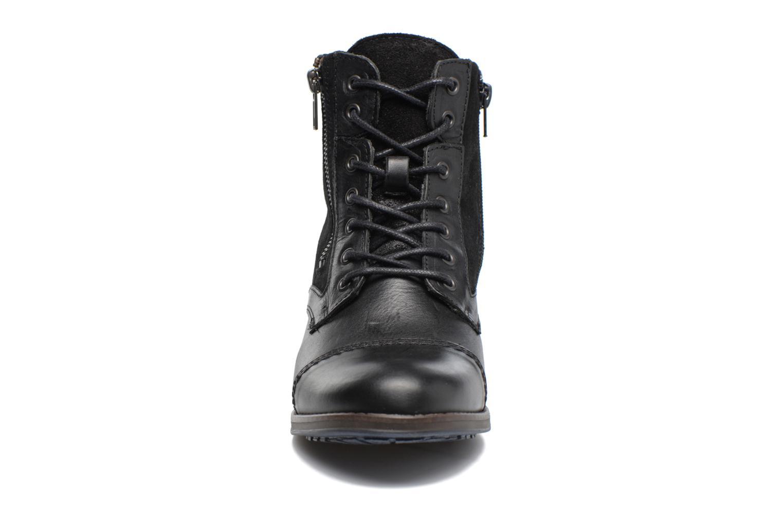Bottines et boots Mustang shoes Maburgat Noir vue portées chaussures