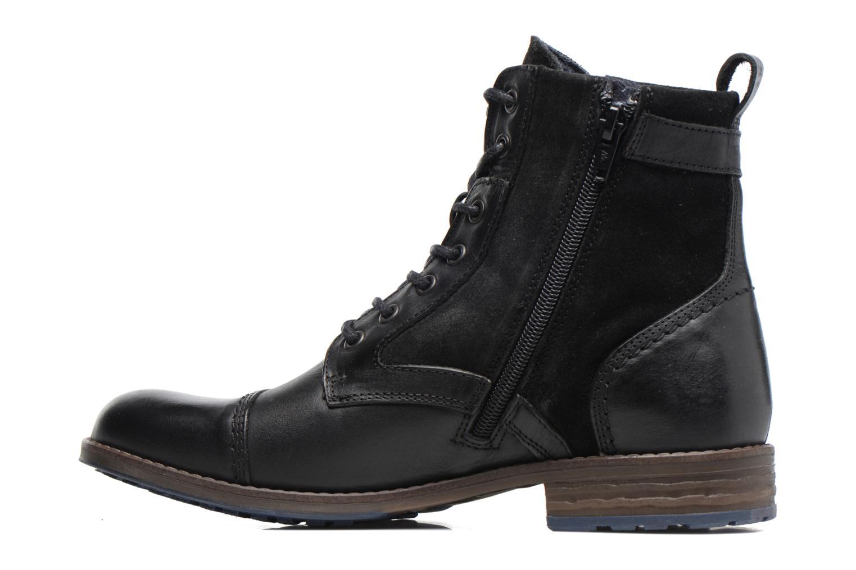 Bottines et boots Mustang shoes Maburgat Noir vue face