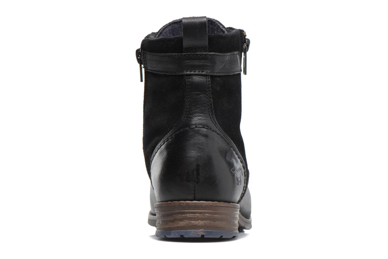 Bottines et boots Mustang shoes Maburgat Noir vue droite