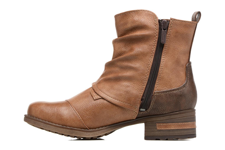 Bottines et boots Mustang shoes Eclewi Marron vue face