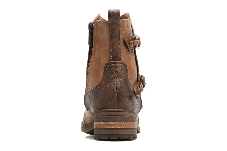 Bottines et boots Mustang shoes Eclewi Marron vue droite