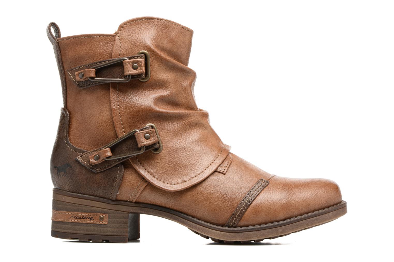 Bottines et boots Mustang shoes Eclewi Marron vue derrière