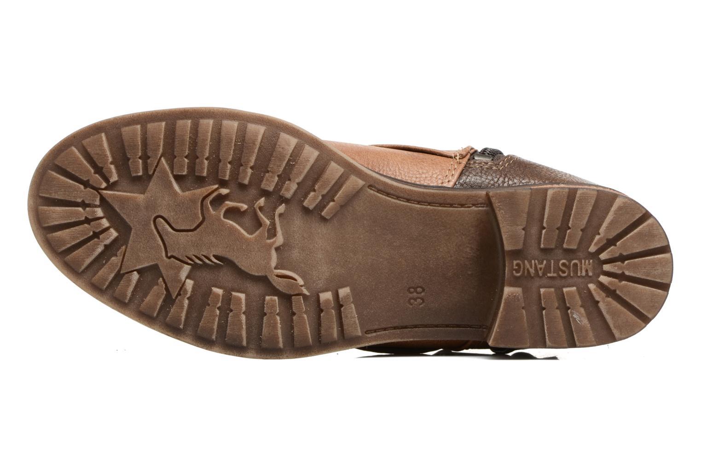 Bottines et boots Mustang shoes Eclewi Marron vue haut