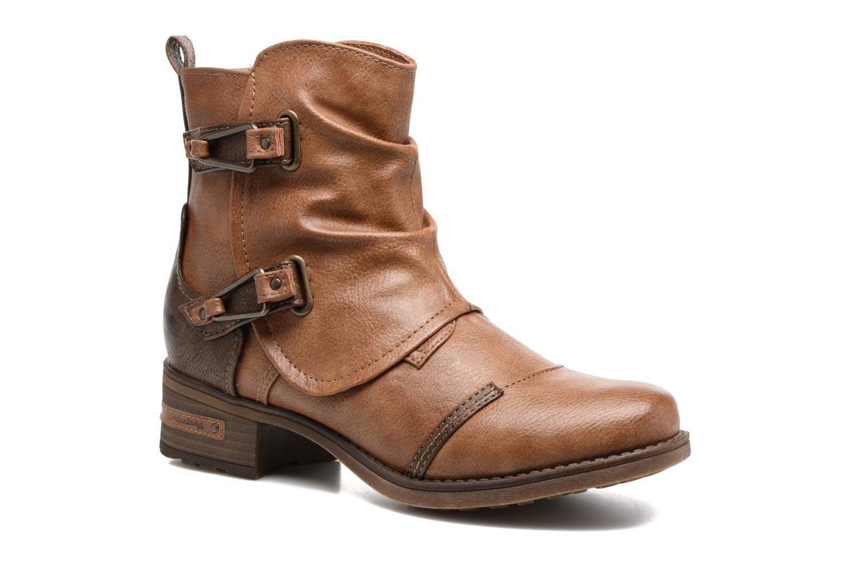 Bottines et boots Mustang shoes Eclewi Marron vue détail/paire