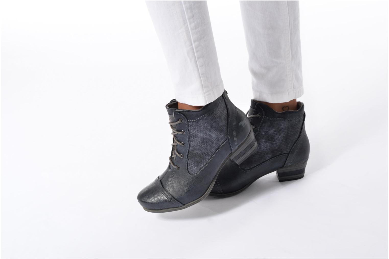 Bottines et boots Mustang shoes Foltar Or et bronze vue bas / vue portée sac