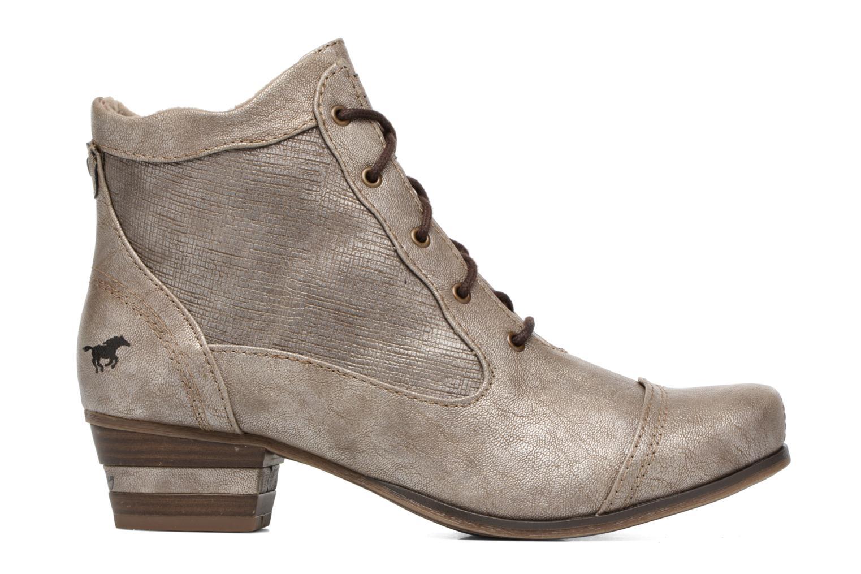Bottines et boots Mustang shoes Foltar Or et bronze vue derrière