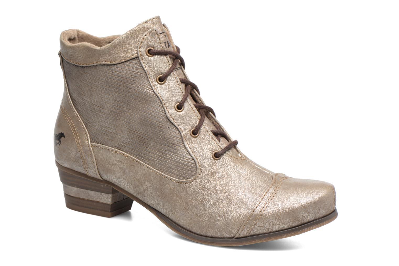 Bottines et boots Mustang shoes Foltar Or et bronze vue détail/paire