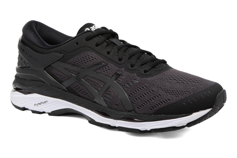Chaussures de sport Asics Gel-Kayano 24 Noir vue détail/paire