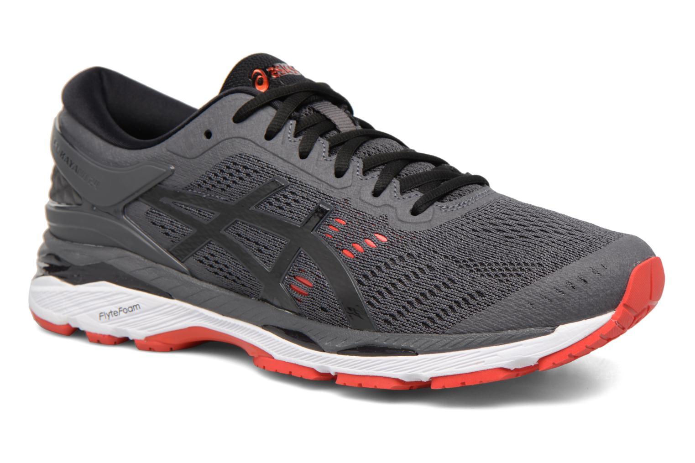 Chaussures de sport Asics Gel-Kayano 24 Gris vue détail/paire