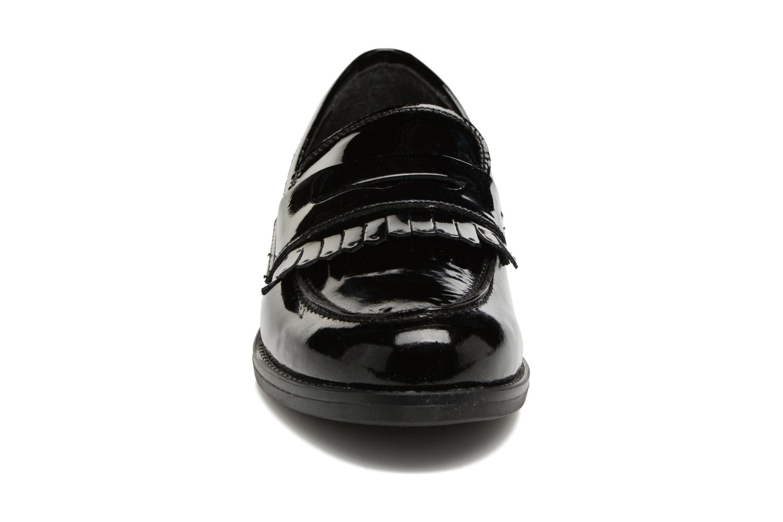 Mocassins Georgia Rose Antho Noir vue portées chaussures