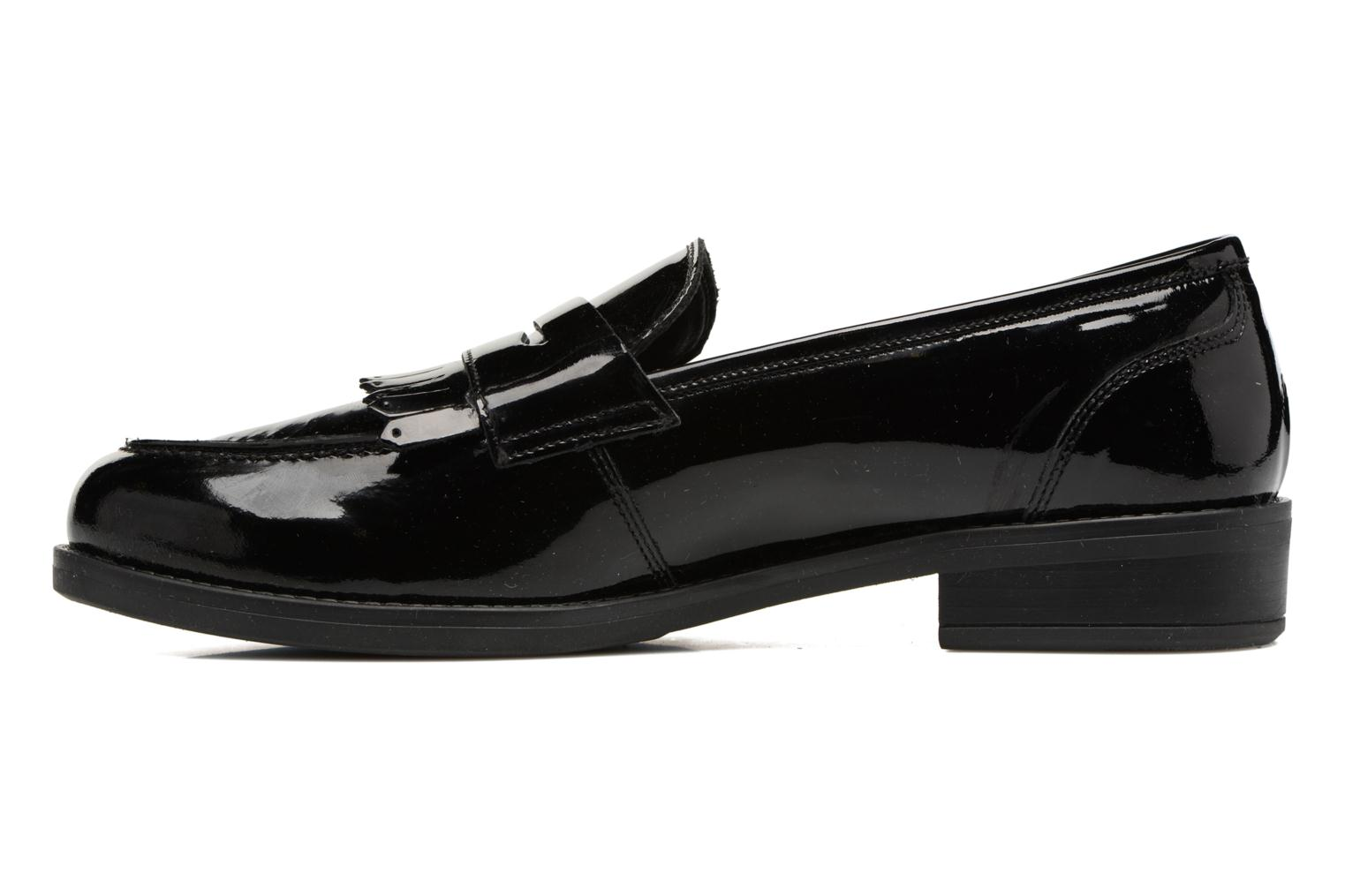 Loafers Georgia Rose Antho Black front view