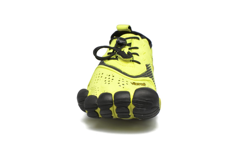 Chaussures de sport Vibram FiveFingers V-Run Jaune vue portées chaussures