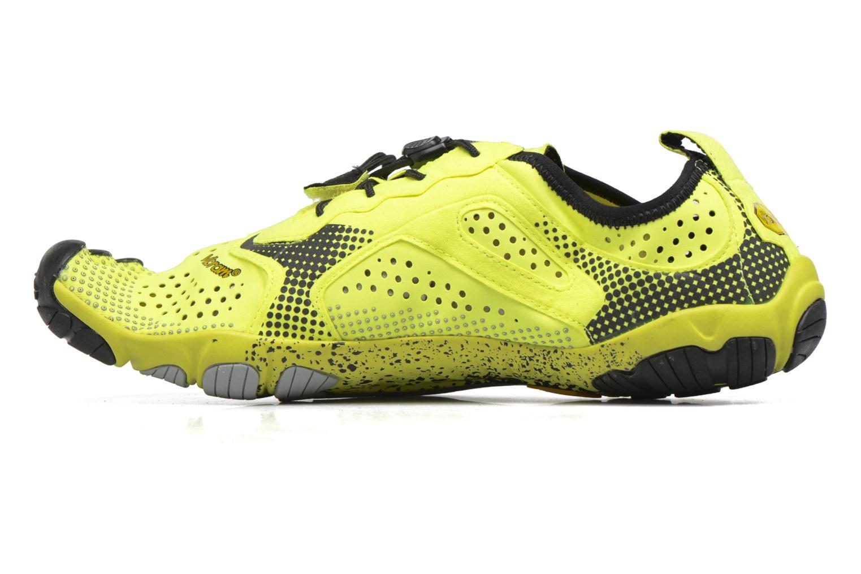 Chaussures de sport Vibram FiveFingers V-Run Jaune vue face