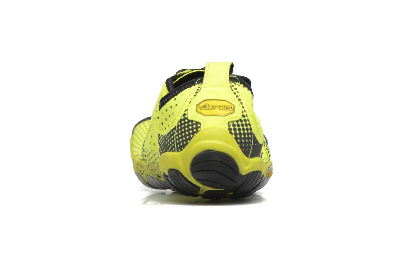 Chaussures de sport Vibram FiveFingers V-Run Jaune vue droite