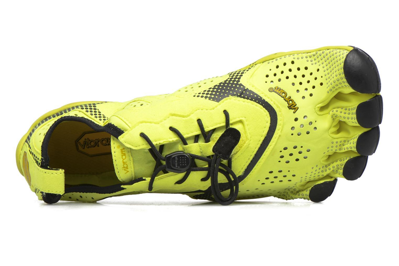 Chaussures de sport Vibram FiveFingers V-Run Jaune vue gauche