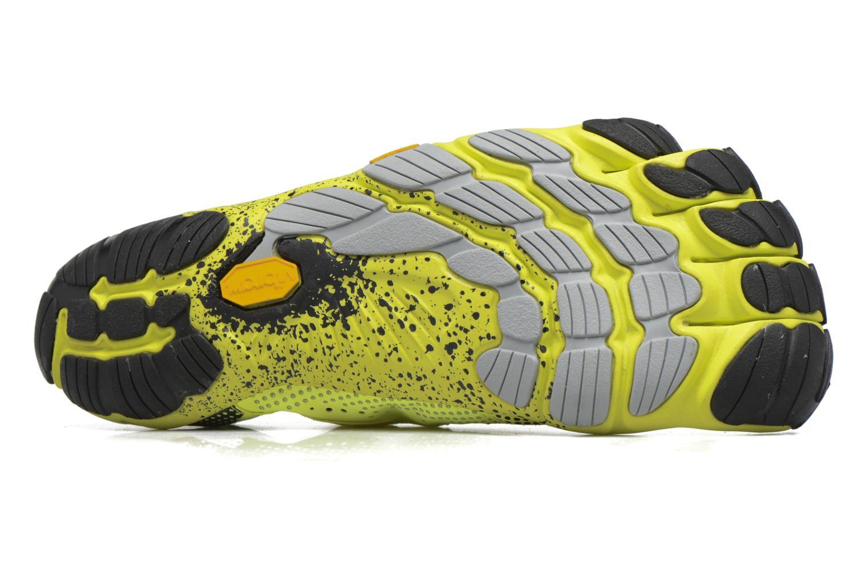 Chaussures de sport Vibram FiveFingers V-Run Jaune vue haut