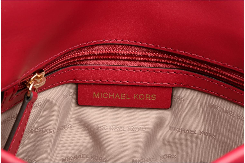 Bolsos de mano Michael Michael Kors SLOAN MD TH SATCHEL Vino vistra trasera