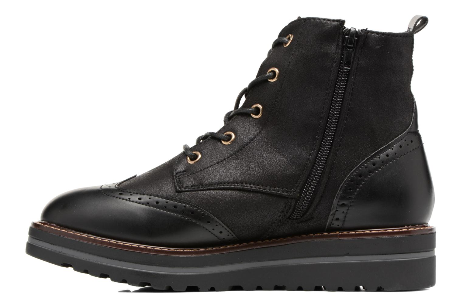Lace-up shoes I Love Shoes THASETO Black front view