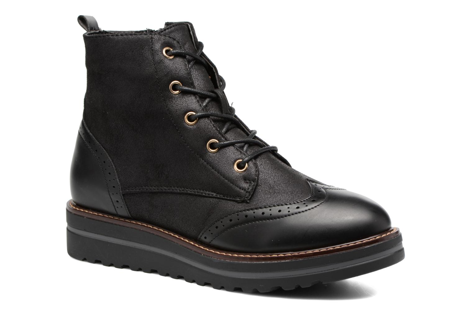 Lace-up shoes I Love Shoes THASETO Black detailed view/ Pair view