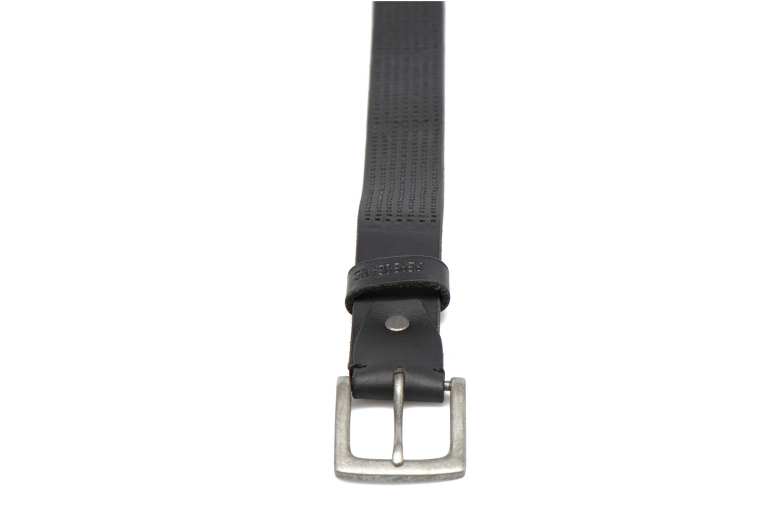 NEW LEWIN Leather Belt 30mm Black